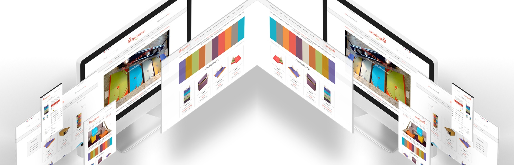 Création de site internet - Site E-Commerce - Visuel pour la création de site internet