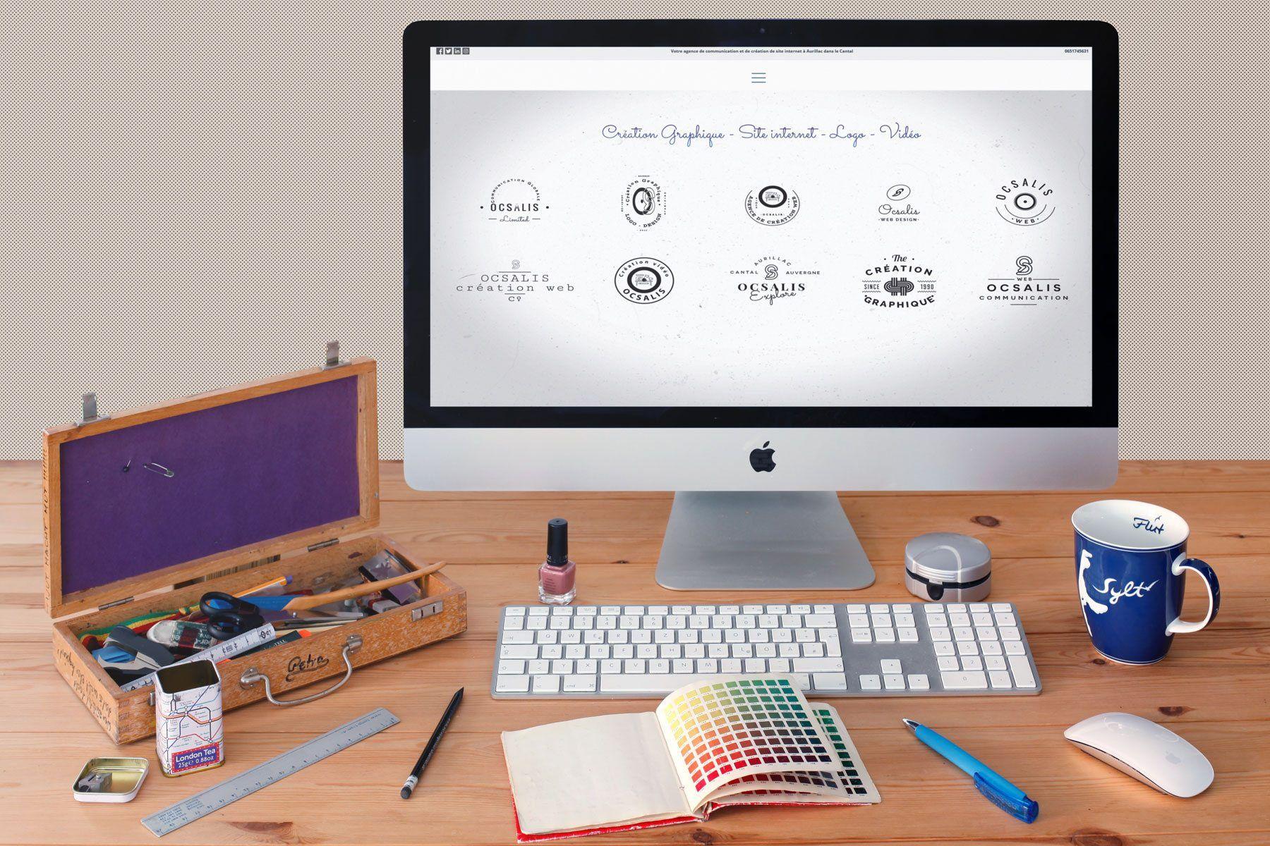 Création de site internet - e-commerce à Aurillac dans le Cantal