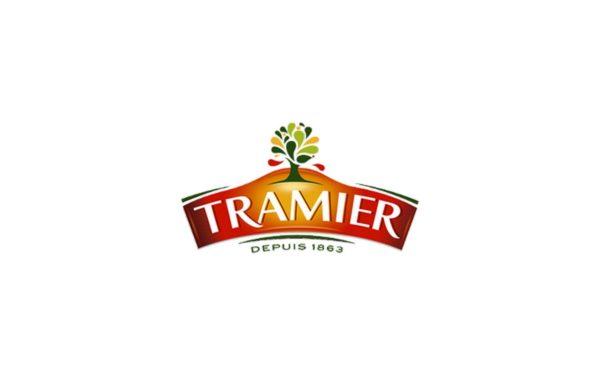 Intégration graphique pour le site internet de la marque d'huile d'olive Tramier